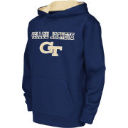 Colosseum Athletics Youth Georgia Tech Yellow Jackets Navy Poly Fleece Hoodie