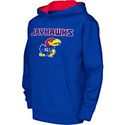 Colosseum Athletics Youth Kansas Jayhawks Blue Performance Hoodie