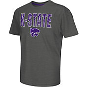 Colosseum Athletics Youth Kansas State Wildcats Grey Position T-Shirt