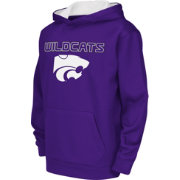Colosseum Athletics Youth Kansas State Wildcats Purple Performance Hoodie