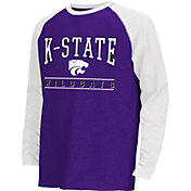 Colosseum Athletics Youth Kansas State Wildcats Purple Krypton Long Sleeve Shirt