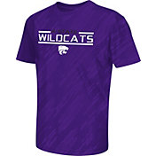 Colosseum Athletics Youth Kansas State Wildcats Purple Sleet Performance T-Shirt