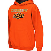 Colosseum Athletics Boys' Oklahoma State Cowboys Orange Poly Fleece Hoodie