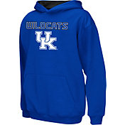 Colosseum Athletics Boys' Kentucky Wildcats Blue Poly Fleece Hoodie