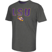 Colosseum Athletics Youth LSU Tigers Grey Position T-Shirt