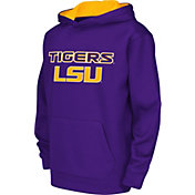 Colosseum Athletics Youth LSU Tigers Purple Performance Hoodie