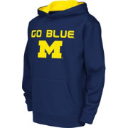 Colosseum Athletics Youth Michigan Wolverines Blue Performance Hoodie