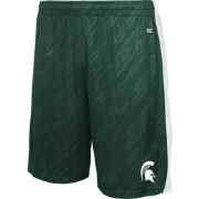 Colosseum Athletics Youth Michigan State Spartans Green Sleet Performance Shorts