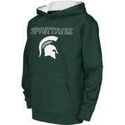 Colosseum Athletics Youth Michigan State Spartans Green Performance Hoodie