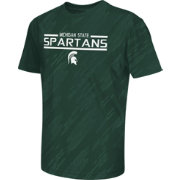 Colosseum Athletics Youth Michigan State Spartans Green Sleet Performance T-Shirt