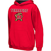 Colosseum Athletics Boys' Maryland Terrapins Red Poly Fleece Hoodie