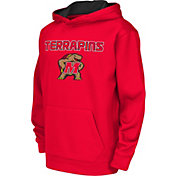 Colosseum Athletics Youth Maryland Terrapins Red Performance Hoodie