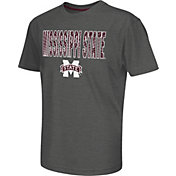 Colosseum Athletics Youth Mississippi State Bulldogs Grey Position T-Shirt