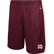 Colosseum Athletics Youth Mississippi State Bulldogs Maroon Sleet Performance Shorts