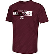 Colosseum Athletics Youth Mississippi State Bulldogs Maroon Sleet Performance T-Shirt