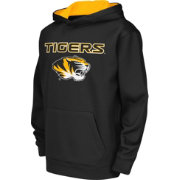 Colosseum Athletics Youth Missouri Tigers Performance Black Hoodie