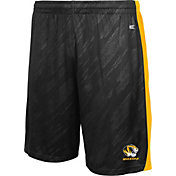 Colosseum Athletics Youth Missouri Tigers Sleet Performance Black Shorts