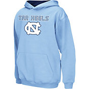 Colosseum Athletics Boys' UNC Tar Heels Carolina Blue Poly Fleece Hoodie
