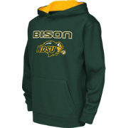 Colosseum Athletics Youth North Dakota State Bison Green Performance Hoodie