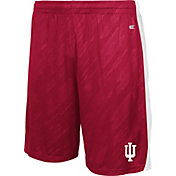 Colosseum Athletics Youth Indiana Hoosiers Crimson Sleet Performance Shorts