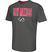 Colosseum Athletics Youth New Mexico Lobos Grey Position T-Shirt