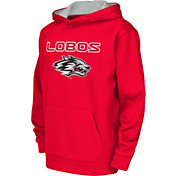 Colosseum Athletics Youth New Mexico Lobos Cherry Performance Hoodie