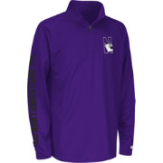 Colosseum Athletics Youth Northwestern Wildcats Purple Draft Performance Quarter-Zip