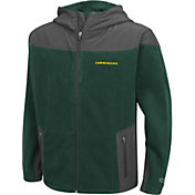 Colosseum Athletics Youth Oregon Ducks Green Full-Zip Fleece Jacket