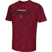 Colosseum Athletics Youth South Carolina Gamecocks Garnet Sleet Performance T-Shirt