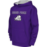 Colosseum Athletics Youth TCU Horned Frogs Purple Performance Hoodie
