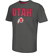 Colosseum Athletics Youth Utah Utes Grey Position T-Shirt