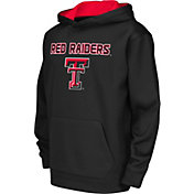 Colosseum Athletics Youth Texas Tech Red Raiders Performance Black Hoodie