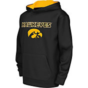 Colosseum Athletics Youth Iowa Hawkeyes Performance Black Hoodie