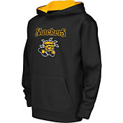 Colosseum Athletics Youth Wichita State Shockers Performance Black Hoodie