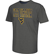Colosseum Athletics Youth West Virginia Mountaineers Grey Position T-Shirt