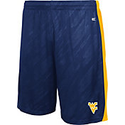 Colosseum Athletics Youth West Virginia Mountaineers Blue Sleet Performance Shorts