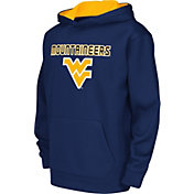 Colosseum Athletics Youth West Virginia Mountaineers Blue Performance Hoodie