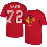 CCM Men's Chicago Blackhawks Artemi Panarin #72 Replica Home Player T-Shirt