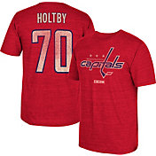 CCM Men's Washington Capitals Braden Holtby #70 Vintage Replica Red Player T-Shirt