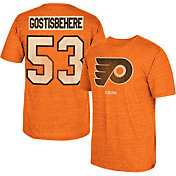 CCM Men's Philadelphia Flyers Shayne Gostisbehere #53 Vintage Home Player T-Shirt
