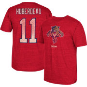 CCM Men's Florida Panthers Jonathan Huberdeau #11 Vintage Home Player T-Shirt