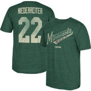 CCM Men's Minnesota Wild Nino Niederreiter #22 Vintage Replica Green Player T-Shirt