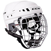 CCM Senior HT06 Ice Hockey Helmet Combo
