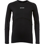 CCM Senior Gel Application Long Sleeve Hockey Compression Shirt