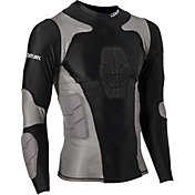 Century Adult Padded Long Sleeve Compression Shirt