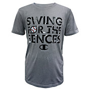 Champion Boys' Swing For The Fences Graphic Baseball T-Shirt