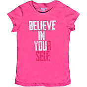 Champion Girls' Believe In Yourself Graphic T-Shirt