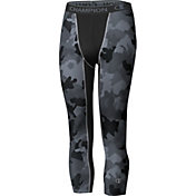 Champion Men's Compression Camo Print Three Quarter Length Tights