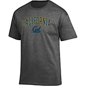 Champion Men's Cal Golden Bears Grey T-Shirt