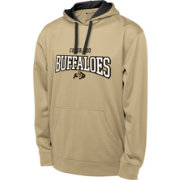 Champion Men's Colorado Buffaloes Gold T-Formation Performance Hoodie